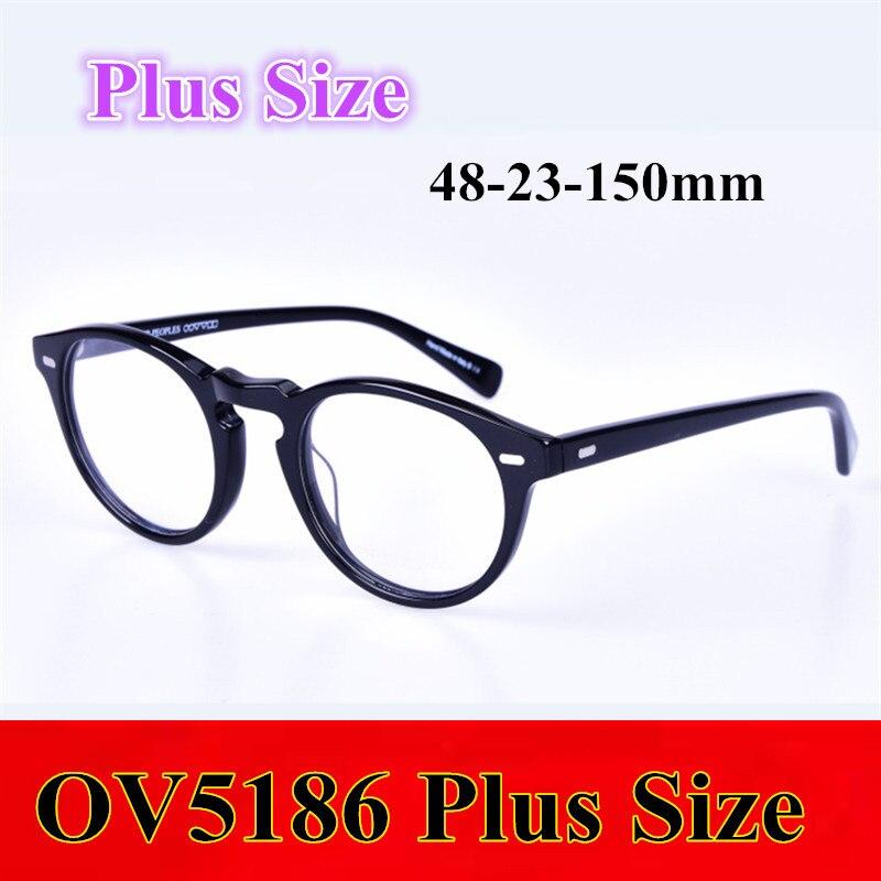 Vintage fashional gafas marcos de las lentes ov5186 más hombres ...