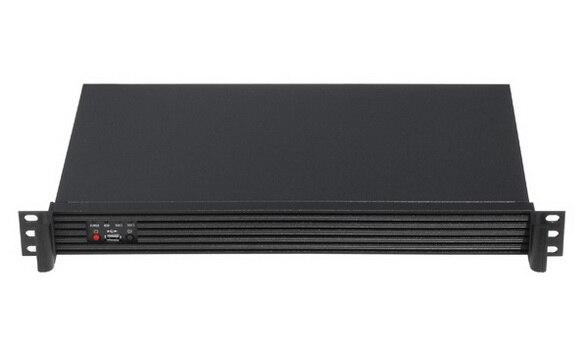 все цены на  New 1u ultra-short computer case firewall case itx computer case industrial aluminum panel only case  онлайн