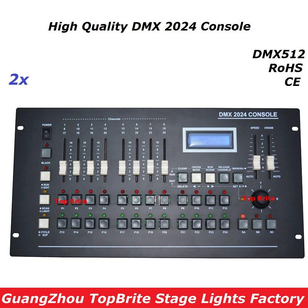 2 Pcs Lot Baru Dmx 2024 Kontroler Konsol 512 Tahap Cahaya Rf Remote Control With 3 Channels By Pic12f509 Pencahayaan Controller 504 Saluran Untuk Dj Disco Laser