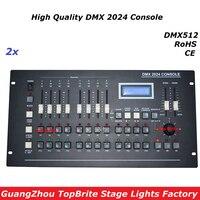 2 teile/los Neue DMX 2024 Controller DMX 512 Bühne Licht Konsole DMX Beleuchtung Controller 504 kanäle Für Bühne Dj Disco laser Licht