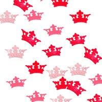 10000PCS PER BAG ROYAL CROWN baby girl rose and pink pvc birthday PARTY confettis