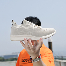 Rommedal Men's Sock Sneakers Classics comfortable lightweight air mesh sport trainers Man casual shoes Solid flats drop shipping