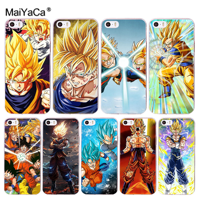 US $0.8 60% OFF|MaiYaCa Dragon Ball DragonBall z goku Coque Shell Phone Case for iphone 11 Pro 8 7 6 6S Plus X 5 5S XS XR|Half-wrapped Cases| - ...