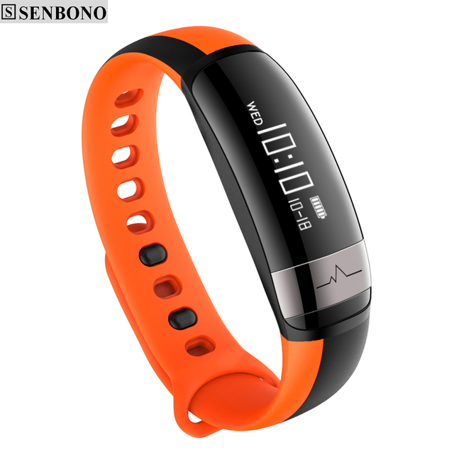 SENBONO M6 Bluetooth Sport Heart Rate Smart Band with Blood Pressure Monitor