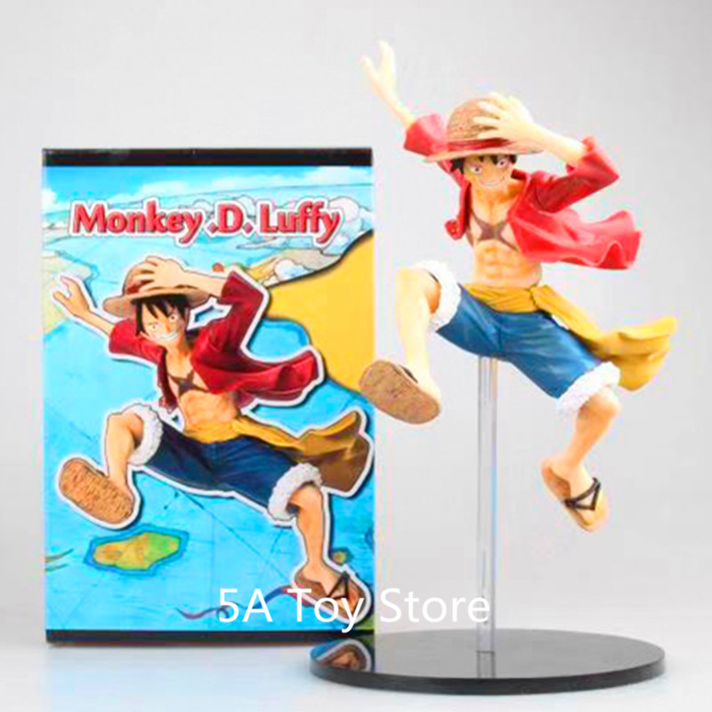 Anime One Piece World Seeker PS4 Monkey D Luffy PVC Action Figure Collection Models Toys Doll