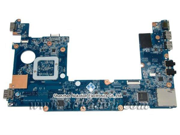 NOKOTION Hot Sale 650739-001 laptop motherboard for HP mini 110 DA0NM1MB6D0 31NM1MB0040 intel N570 DDR3 Mother Board Full Tested nokotion 434722 001 laptop motheboard for hp dv6000 intel 945pm nvidia gf go7400 b n a3 graphics ddr2