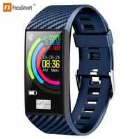 FocuSmart 2019 Smart Wristbands DT58 Fitness Tracker ECG HRV Heart Rate Monitor Blood Pressure Smart Bracelet For IOS/Android
