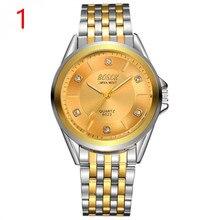 Мужские модные часы кожаный ремешок в сдержанном стиле Повседневное класса люкс Бизнес Wristwatch1