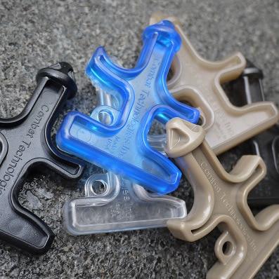 10 Pieces Of Nylon Plastic Portable Security Personal Self-defense Supplies Self-defense Stinger Dragon Diamond Protection Tool