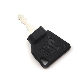 2 pc JCB 3CX części do koparki roślin klucze sprzęt kluczyk zapłonowy do przełącznika rozrusznika