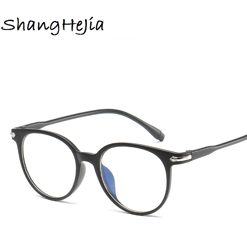 f0c19a9026 Aliexpress.com   Buy 2018 Fashion Women Glasses Frame Men Eyeglasses Frame  Vintage Round Clear Lens Glasses Optical Spectacle Frame from Reliable mens  ...