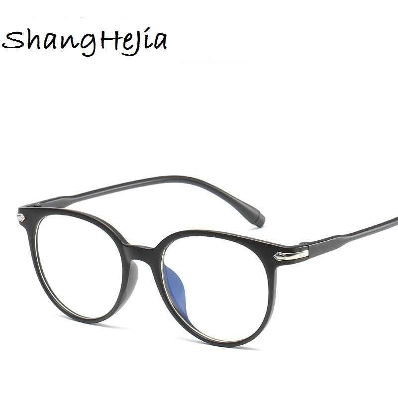 67d6e735569 ... 2018 Fashion Women Glasses Frame Men Eyeglasses Frame Vintage Round  Clear Lens Glasses Optical Spectacle Frame ...