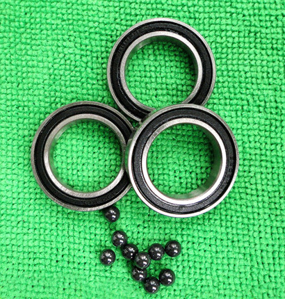 6908 2RS Size 40x62x12 Stainless Steel + Ceramic Ball Hybrid Bike Bearing 6008 2rs size40x68x15 stainless steel ceramic ball hybrid bike bearing s6008 2rs