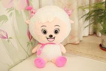 lovely  goat plush toy the cartoon goat cute stuffed toy the beauty goat about 50cm