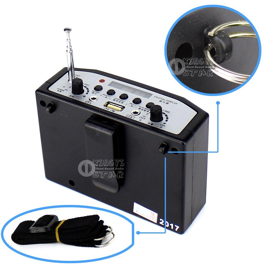 Luar megaphone penguat kuasa mudah alih mini speaker usb tf kad radio - Audio dan video mudah alih - Foto 2