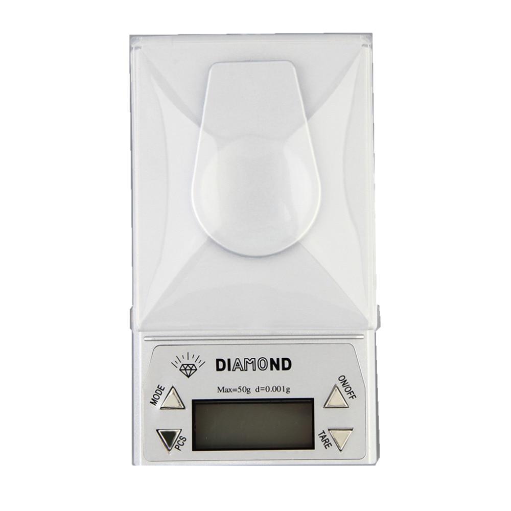 OUTAD Bilancia digitale per gioielli di alta precisione 50g x 0,001g - Strumenti di misura - Fotografia 2