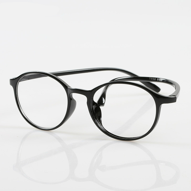 bbbc8dc7fd TR90 alta Calidad Ronda Gafas de Lectura de la Mujer Para Hombre de Anteojos  para el