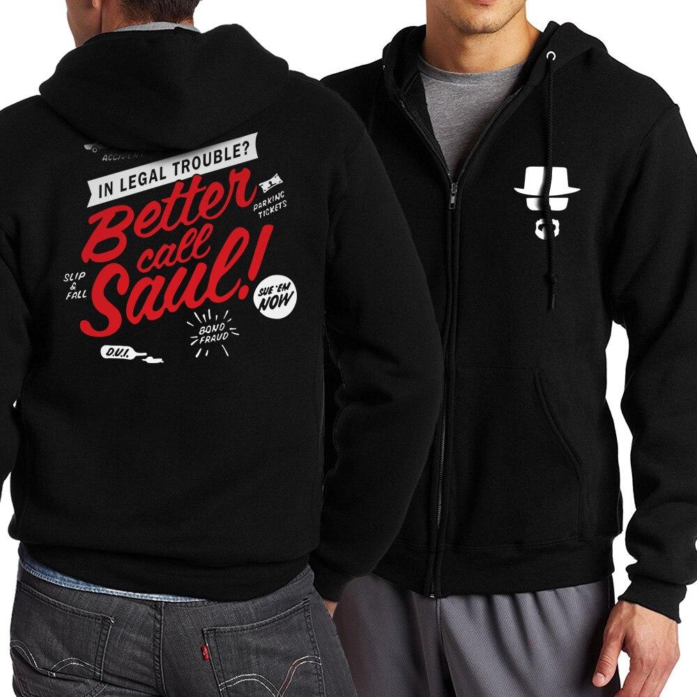 Image 3 - Men Hoody Breaking Bad Heisenberg Character 2019 Spring Autumn Jackets Men Zipped Hoodies Brand Clothing Sweatshirts Tracksuits-in Hoodies & Sweatshirts from Men's Clothing