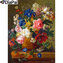 DIAPAI 100% Full Square/Round Drill 5D DIY Diamond Painting Flower painting Embroidery Cross Stitch 3D Decor A18784