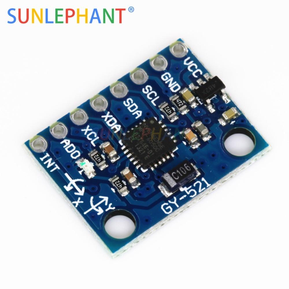 GY-521 MPU-6050 MPU6050 Módulo Módulo Acelerômetro Eixo Eixos sensores de giroscópios analógicos + 3 3