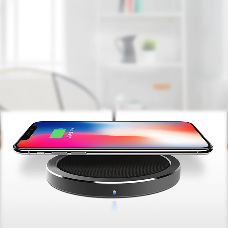 Fast Charging Qi Wireless Charger For IPHONE X 8 Plus Samsung Galaxy Note 8 S8 S7 edge S6 Qi Enabled Devices Universal Battery