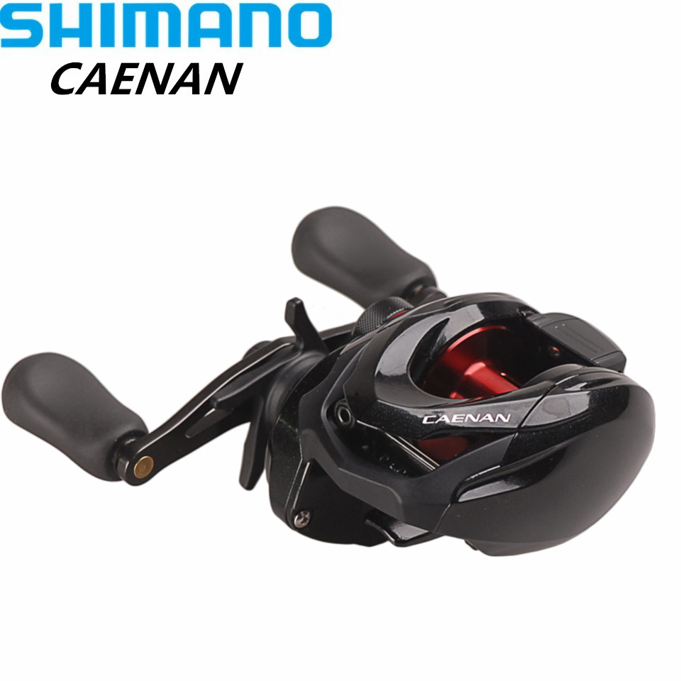 Original SHIMANO CAENAN Bait Casting Fishing Reel 6.3:1 7.2:1 S3D Spool Molinete Baitcasting Reels Saltwater Carretilha De Pesca