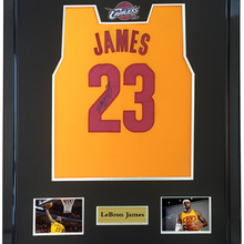 d57e7946ea5b LeBron James signed autographed basketball shirt jersey come with Sa coa  framed Cavaliers(China)
