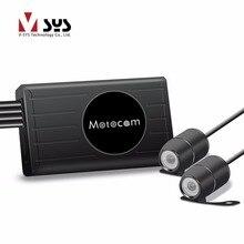 Vsys X1F Verbesserte X2 2CH FHD 1080 P High End Motorrad Bike kamera DVR Black Box für Vorder-und Rückansicht Cam Video Recorder