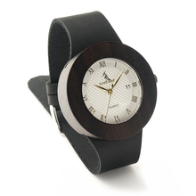 BOBO BIRD C02 New Women s Design Brand Luxury Gold Wooden Bamboo Watches With Real Leather