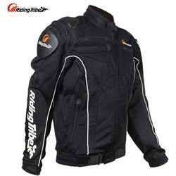 Riding Tribe Men Summer Motorcycle Jacket Clothing Motorbike Protection Riding Clothes Breathable Mesh Motor Bike Jackets