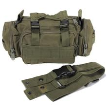 TEXU High Quality Waterproof Nylon Waist bag man Pouch military waist bag Bag – Green
