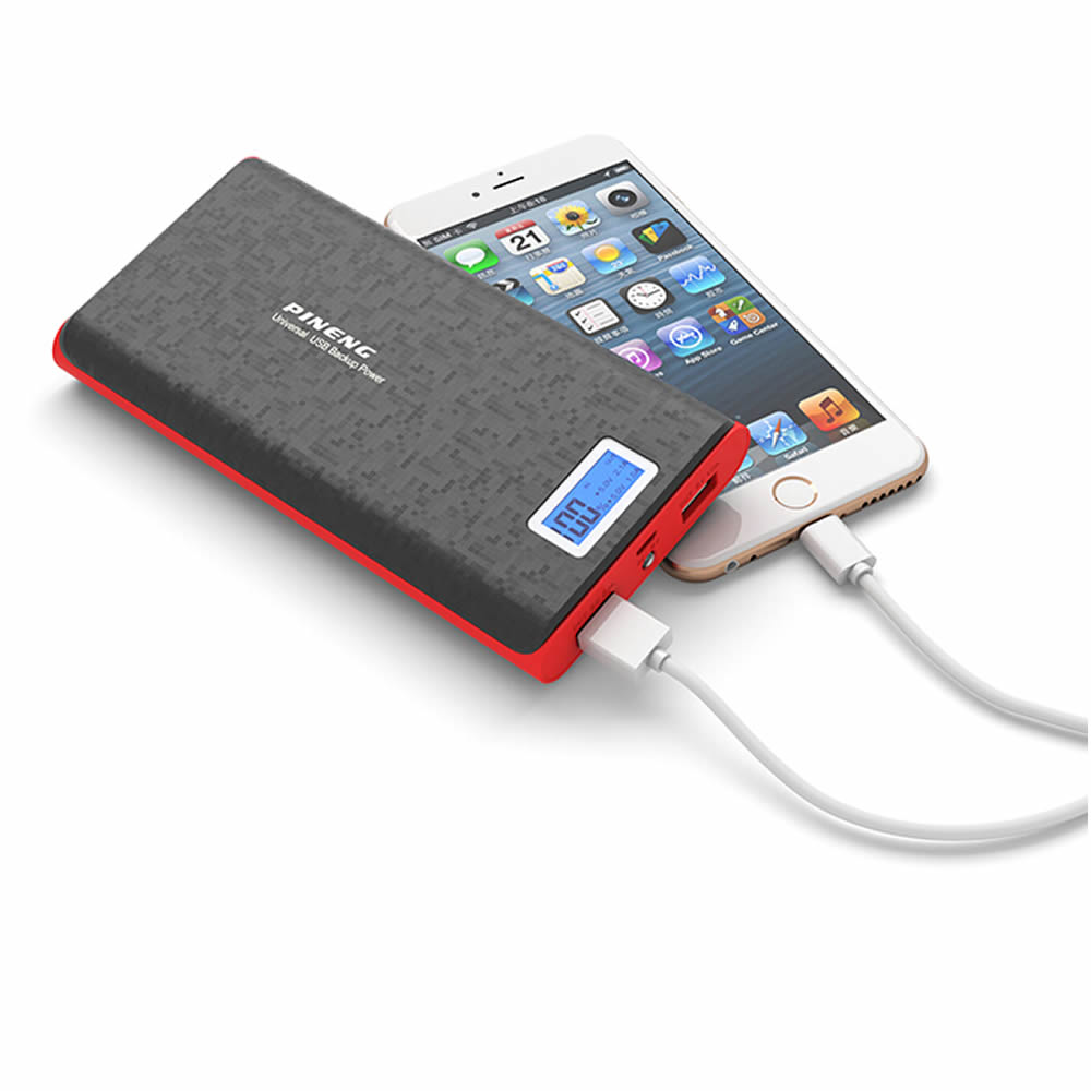 Pineng Power Bank 20000mah Pn920 External Battery Pack Powerbank With Led Display 5v 2.1a For Iphone Samsung Lg Htc Xiaomi Oppo At All Costs Cadillac American