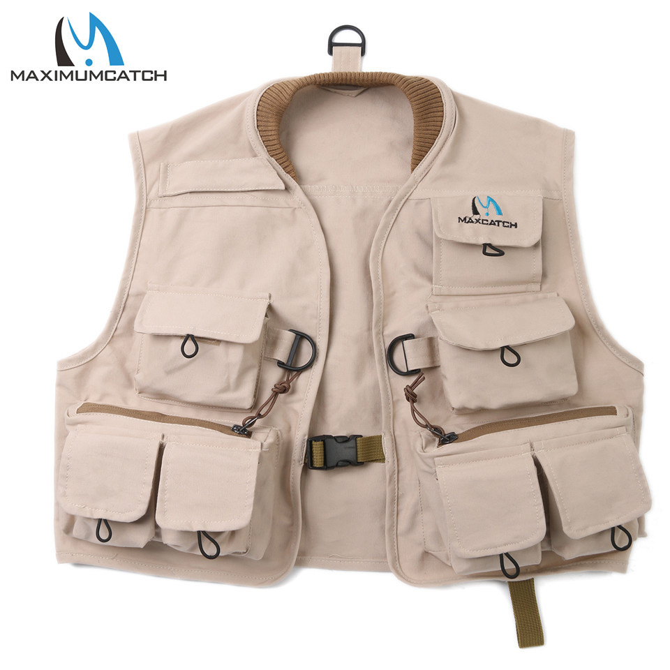 Maximumcatch Kids Fly Fishing Vest Hykids Youth Vest Pack 100% Cotton Fishing Vest For Fun maximumcatch fishing sling back pack outdoorsport fly fishing sling bag with fly patch