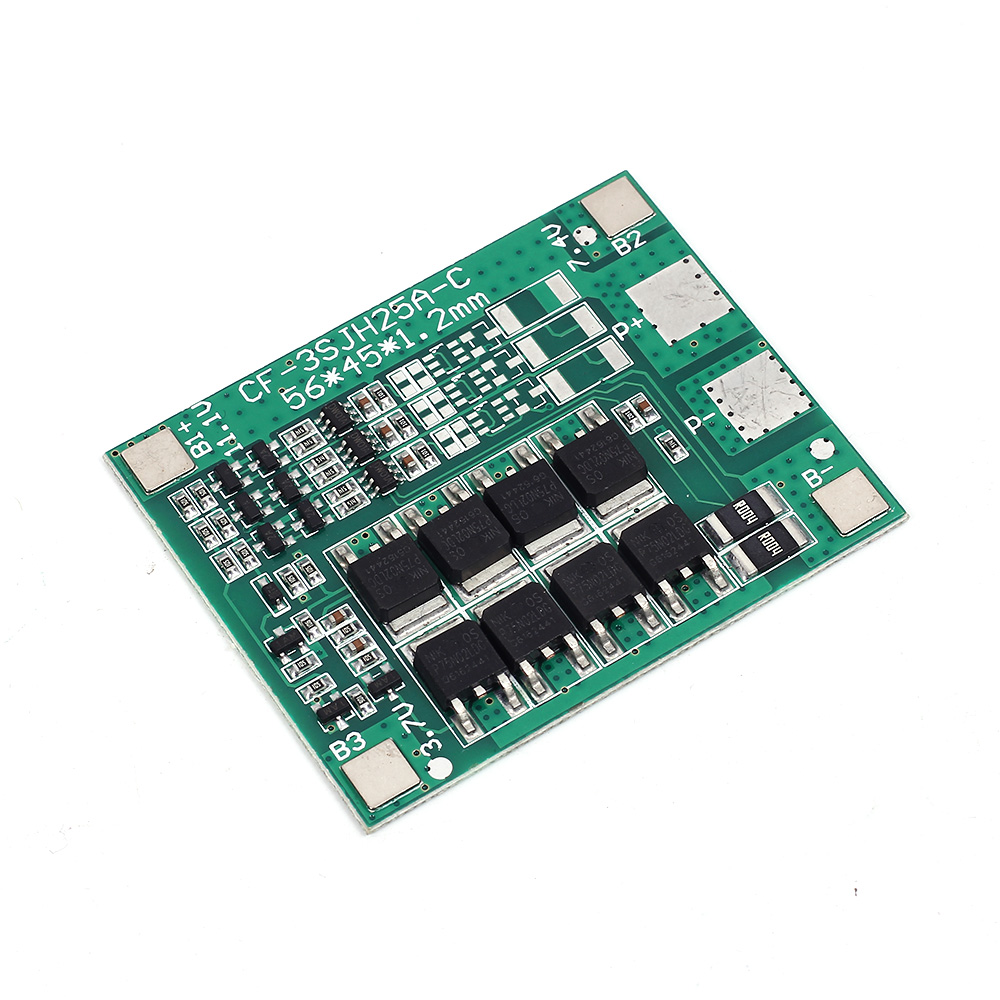30A 3S 18650 Li-ion lithium Battery Cell Charger Protection Board PCB Lithium Polymer Battery Charging Module