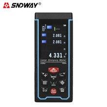 SNDWAY SW-S120 120 M Kolorowy TFT LCD Cyfrowy Miernik Laserowy Odległość Rangefindert z Kamerą Darmowa wysyłka