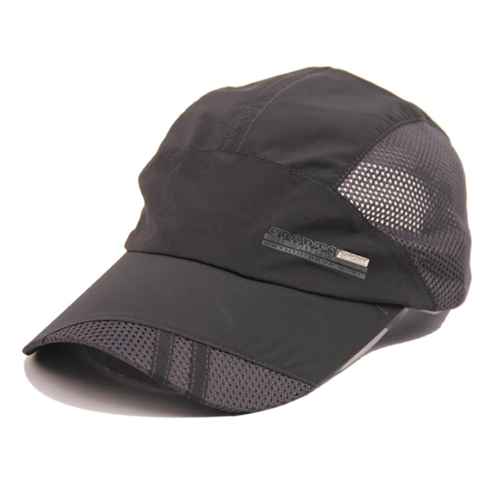 SAF 2016 NEW Fashion Mens Summer Sport Baseball Hat Running Visor cap dark gray