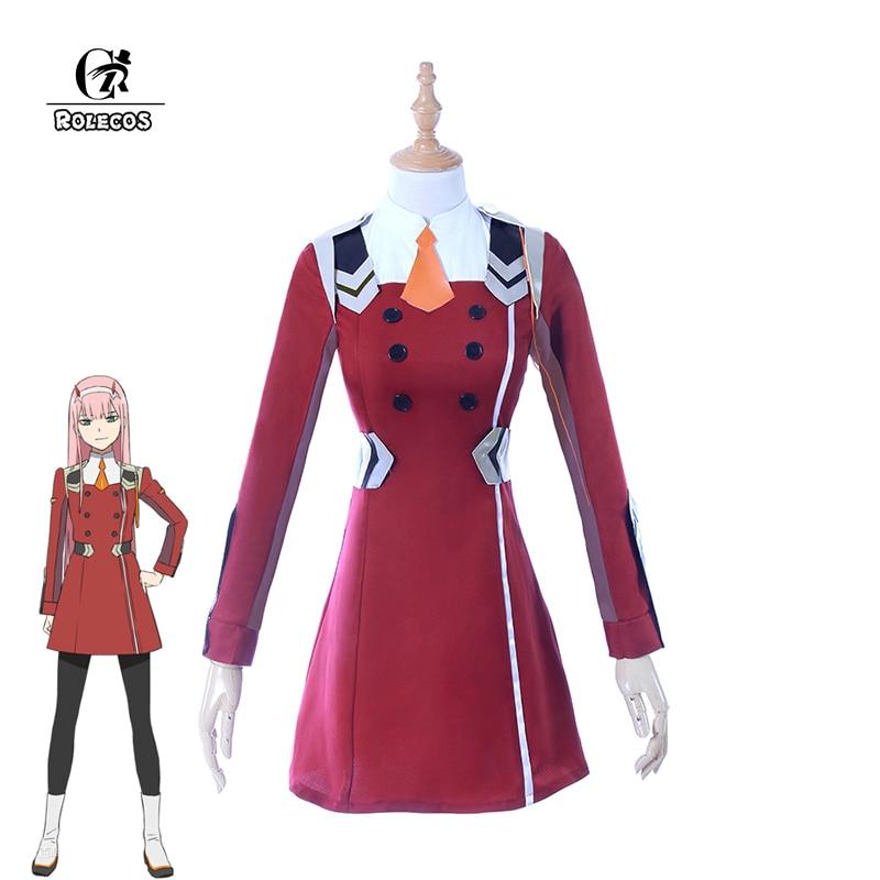 ROLECOS 2018 Japaneseապոնական Anime DARLING- ը FRANXX- - Կարնավալային հագուստները