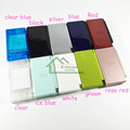 For Nintendo DS Lite for NDSL Clear Housing Shell Color Housing Case Cover Full Set Replacement with High Quality