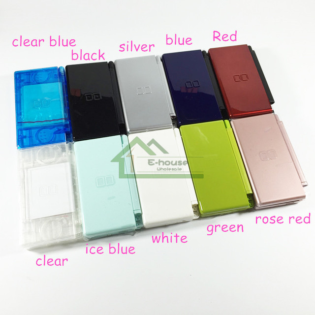 for nintendo ds lite for ndsl clear housing shell color housing case