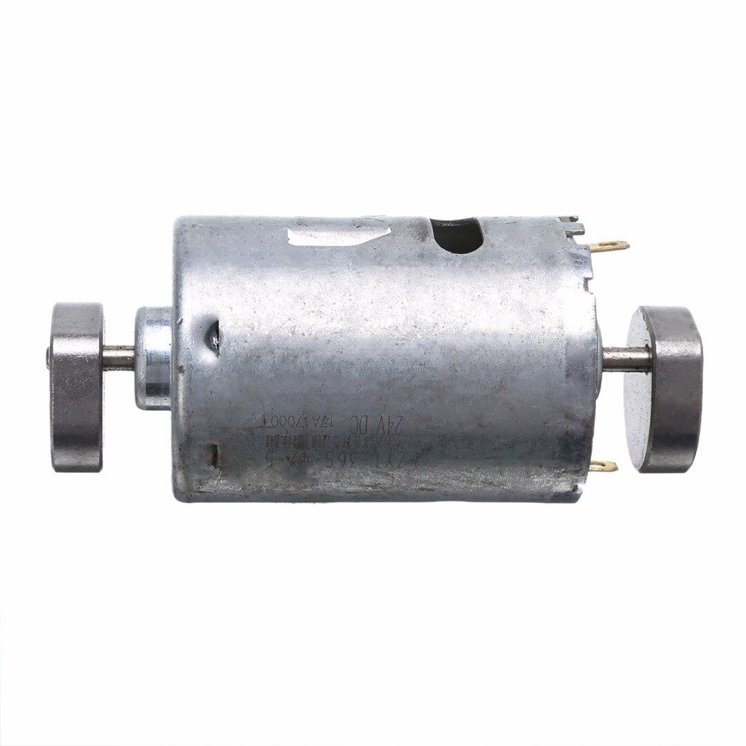 DC 12V 24V 555 Vibrating Motor Dual Vibrator Motors 36mm Diameter For DIY Massager 1pc 555 vibrating motor dual vibrator strong vibration diy massager dc 12v 24v 0 3a