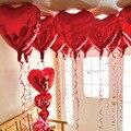 10 pçs/lote polegadas Balões De Casamento Grande Coração Forma Folha De Alumínio Balão de Casamento Decoração de Festa de Aniversário De Uma Variedade de Ar Bola