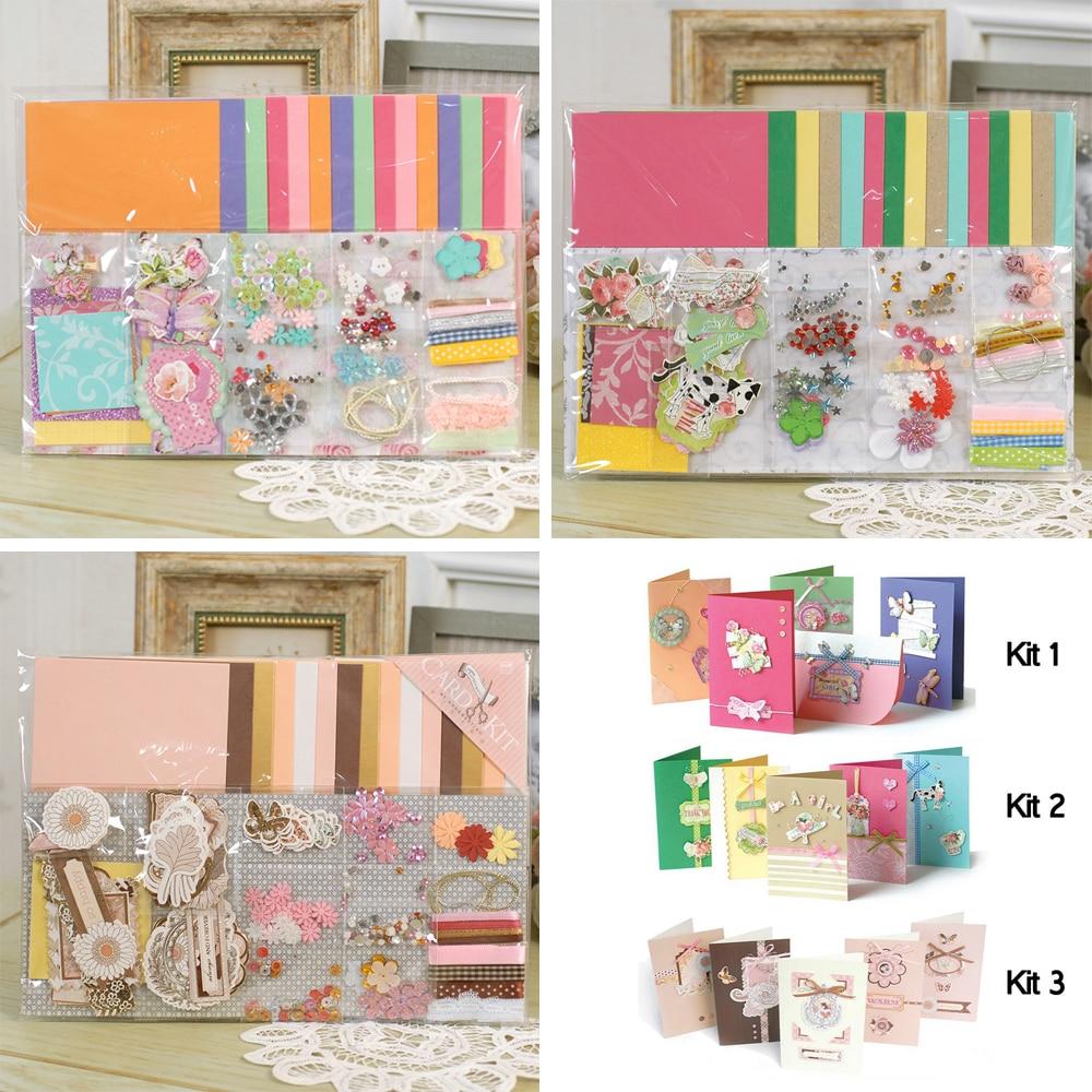 Eno Greeting Diy Blank 15 Cards Making Kit For Beginners Diy