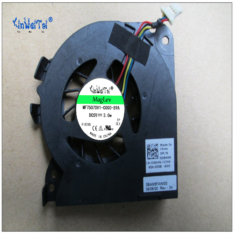 Fan Cooling Computer & Office Systematic New Cn-0d844n D844n Cpu Fan For Dell Vostro 1220 Dfs451305m10t 0f8q100009 5v Cpu Cooling Fan
