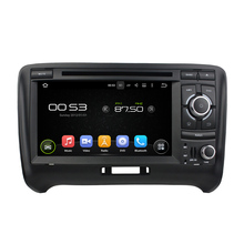 For Audi TT (2006-2013) android 5.1.1 system hd 1024*600 car dvd player bluetooth gps navi 3G wifi navi free map rearview camera