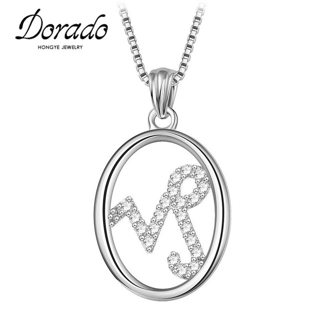 silver gift charms zodiac jewelry design capricorn simple gold pendant rhinestone color item necklace men for