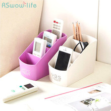 Plastic Multi-grid Desktop Storage Box Living Room Cosmetic Office For Household Products