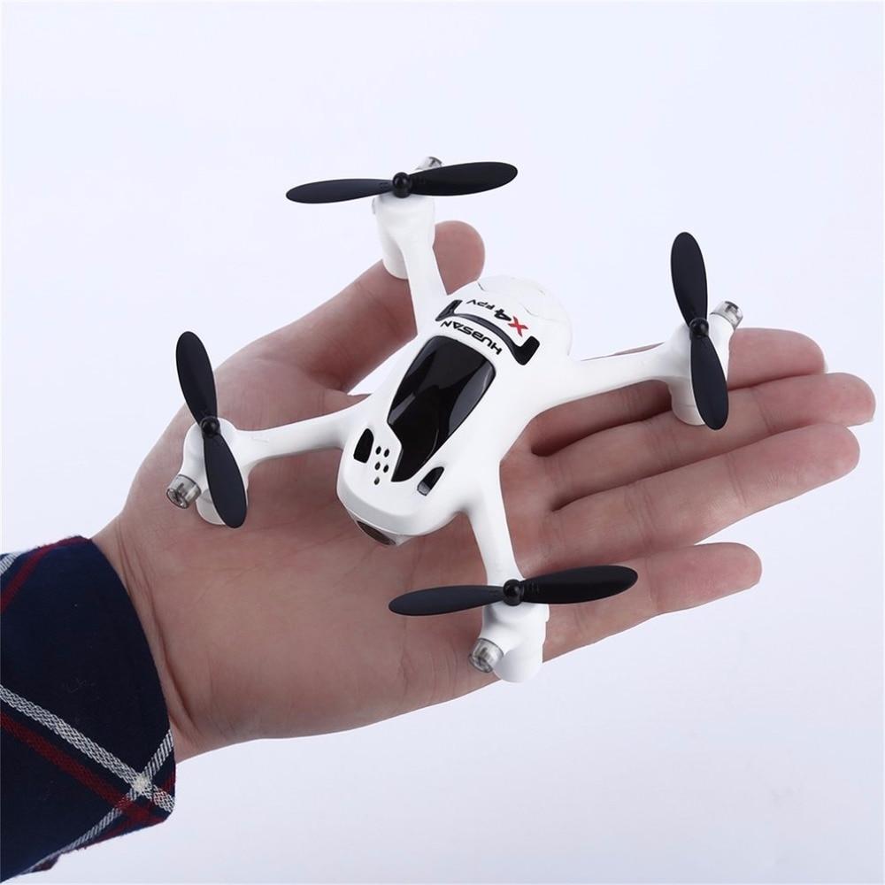 Белый 720 P Камера 2,4G 4CH RC Quadcopter RTF для Hubsan FPV X4 плюс H107D + маленький FPV Quadcopter - 2