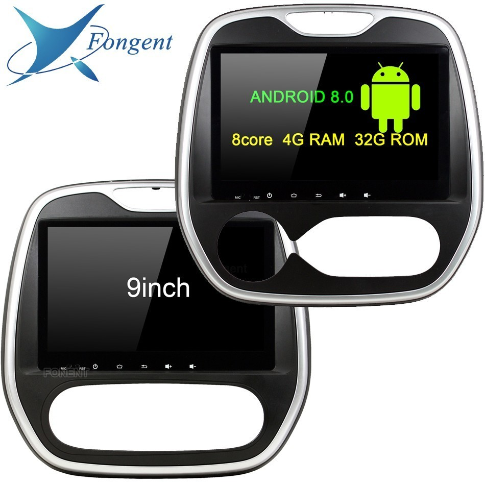 HD TDA7851 Para Renault Captura MT AT 2011-2017 Android 8.0 GB RAM 8 4 core DVD Player Do Carro glonass GPS Mapa RDS Radio Bluetooth wi-fi