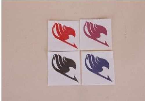 15 sztuk/zestaw Fairy Tail ciało naklejki Natsu Elza szary Lucy Zera Yuri Zero Cosplay tatuaże naklejki wodoodporne części T30