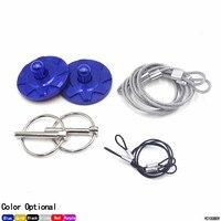 CNSPEED New Universal CNC Billet Aluminum Racing Hood Pin Appearance kit Hood pin lock red/blue/black/purple/gold/grey TT100809